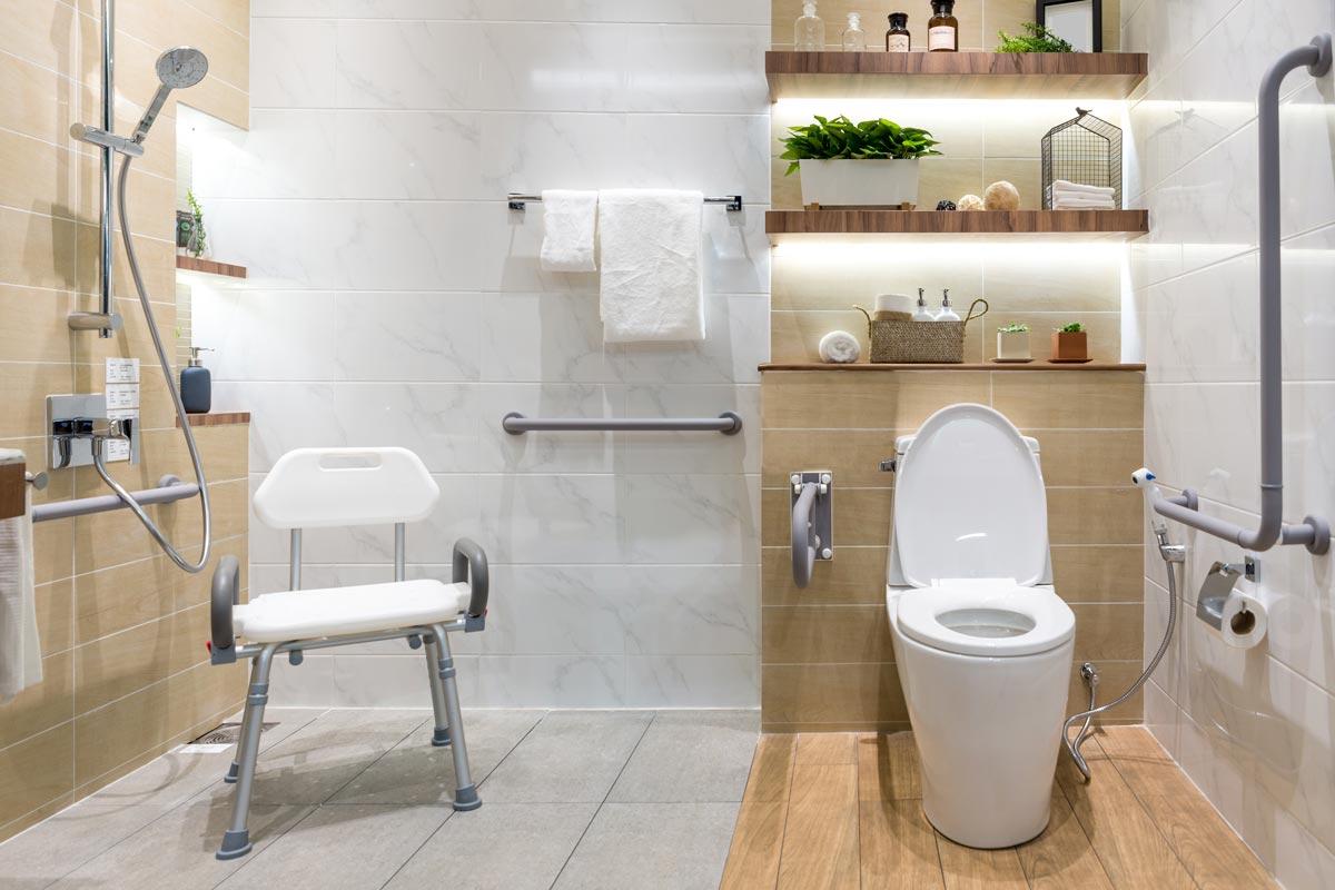 Bagno Senza Bidet Normativa bagno accessibile, caratteristiche e sicurezza - docciatime